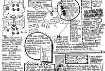 Sketchnotes & Infographics / Examples of sketchnotes and infographics I found useful.