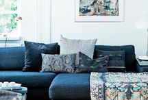 Colored Sofas and Armchairs
