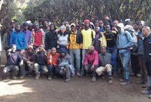 Challenge Leading / This is pictures from my experience as a challenge leader having climbed Kilimanjaro in 2013!