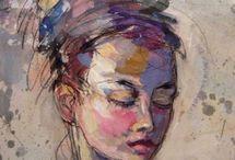 Peinture visage femme