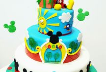 Torte Topolino e Minny ♡ / Qui troverete idee per le torte di compleanno tema Topolino e Minny