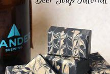 Beer & wine soaps