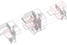 SPATIAL SEQUENCE + NOTATION / Spatial Sequence drawings in architecture, film, drawing