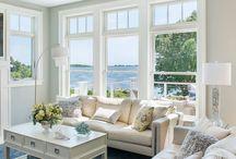 a beachside home
