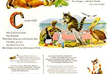 Retro Ads | Animals / Vintage animal related adverts. Click main image to see whole ad campaign on Retro Musings.