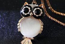 Owl Motif Jewelry & Accessories