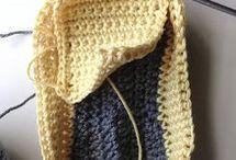 crochet chausson
