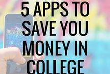 College Finances / Struggling to stay on top of your finances in college? These pins will help you set a budget in college and save money while paying down your student loans.