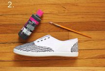DIY; shoes painting