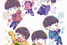 osomatsu-san / The sextuplet sibling anime filled with comedy and other things