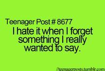 teenagers / *** that teenage life doe *** / by that tumblr girl
