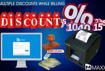 Multiple Discounts while Billing / Multiple Discounts feature helps to give multiple discounts to the customer while billing....http://maxxerp.blogspot.in/2013/12/multiple-discounts-while-billing.html