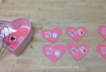 montessori valentine day
