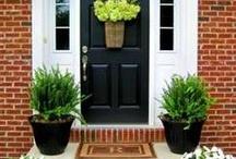 dom, drzwi