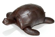 Leather & wooden animals