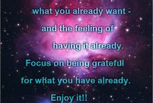 LOA / Law of Attraction tips and quotes.