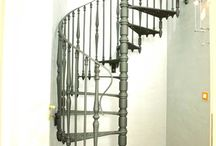 Escalier spirale Blangy