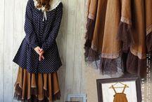 romantic and feminine clothing