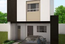 FACHADAS DE CASAS EN MÉXICO / Fachadas de casas minimalistas, modernas, contemporaneas y estilo mexicano.
