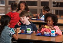 TIME TO EAT AT SCHOOL Rocks / Every child deserves enough time to eat and enjoy meals at school. Whether meals come from home or school, having enough to eat means less waste and better nutrition.