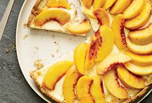 Georgia Peach Inspired Recipes / Georgia peaches are a thing of beauty, and we cook'em up all sorts of ways here in the South.