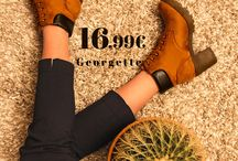 Μποτάκι ταμπά || Georgette 16,99€