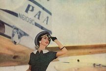 Vintage Travel / Flights of Fancy from Bygone Eras