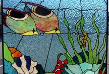 Painting on glass 1