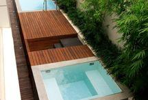 Badewanne Garten