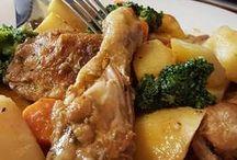 Estofado de pollo con vetduras
