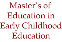 UNLV College of Education Master's Degree Programs / Brief information regarding the various Master's degree programs offered through the UNLV College of Education. / by UNLV College of Education