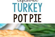 Left over turkey