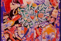 MY WORK.Pictura/Picture/Peinture/Bild / Pictura, pensule si culori, desi formele, desenul si povestea ma intereseaza mai mult decat armonia cromatica...