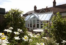 REHAU Conservatories / As summer fades a conservatory helps to keep you in touch with the outdoors and creates extra space in your home, here's some beautiful examples to inspire you