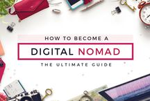 Digital nomads / How to become a succesful digital nomad? Here I gather all the tips!