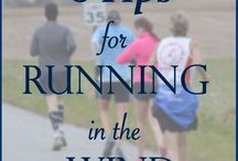 The top of the running