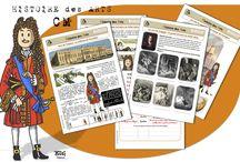 Ecole : Histoire des arts / Fichiers, évaluations, leçons... piochés sur le net - compétence : culture humaniste > pratiques artistiques (histoire des arts) - niveau primaire