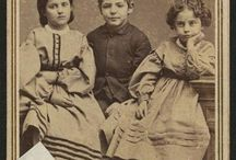 Slave children of the Civil War / White slave children from New Orleans... Rebecca, Rosa, Charley, Isaac, Augusta and my favorite little girl Fannie from Virginia