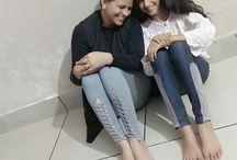 mother daughter love / true happieness