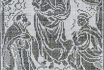 egyházi horgolt kézimunkák church embroidery
