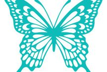 プラ板 蝶