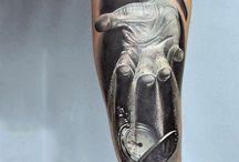 Tatuaże klapsydra