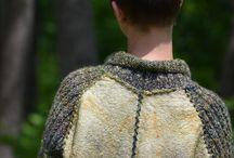 войлок+вязание