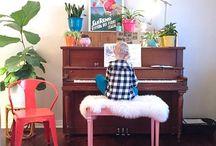piano styling