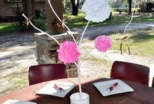 baby shower centerpiece ideas / by Amy {fun-baby-shower-ideas.com}