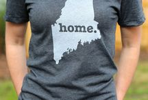 Maine / If you're interested in #Maine, this board likely has a few things you'd like to see, including the Maine Home T-shirt. / by The Home T