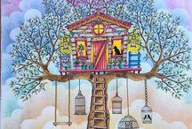 Secret Garden / Colouring book