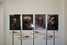 Athens Exhibition Wooden Sunglasses / Rota Dentata Exhbition at project space Six D.o.g.s.  Wood Handmade Eyewear and Stuff.