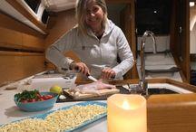 Cucina di bordo