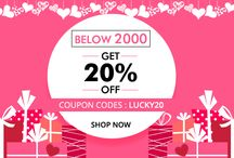 Valentine-day Special Offers / Get more offers on Valentine-day and make it special http://www.nallucollection.com/